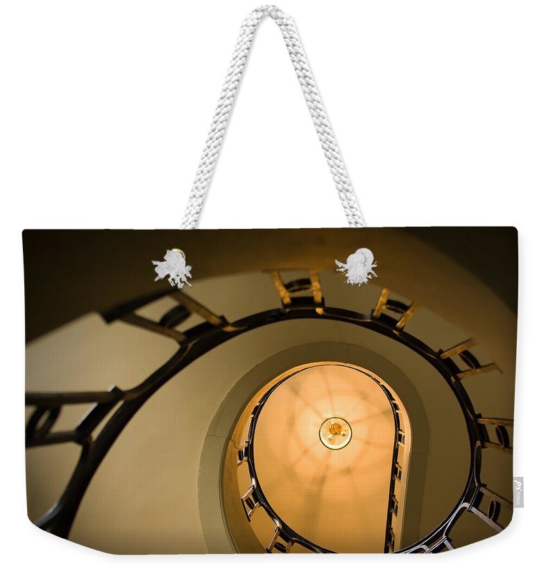 France Weekender Tote Bag featuring the photograph Going Up by Sebastian Musial