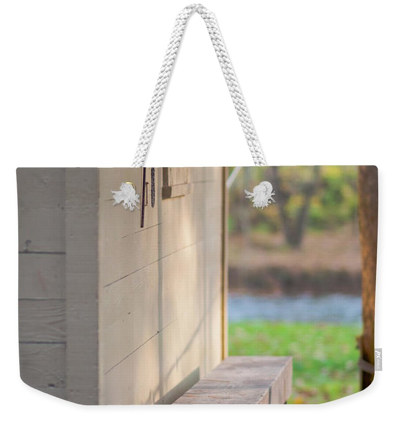 Fishing Weekender Tote Bag featuring the photograph Gone Fishin by Scott Hafer