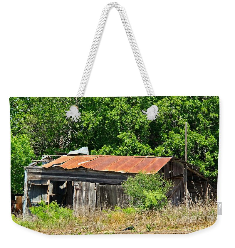 Gone Home Weekender Tote Bag featuring the photograph Gone Home by Gary Richards