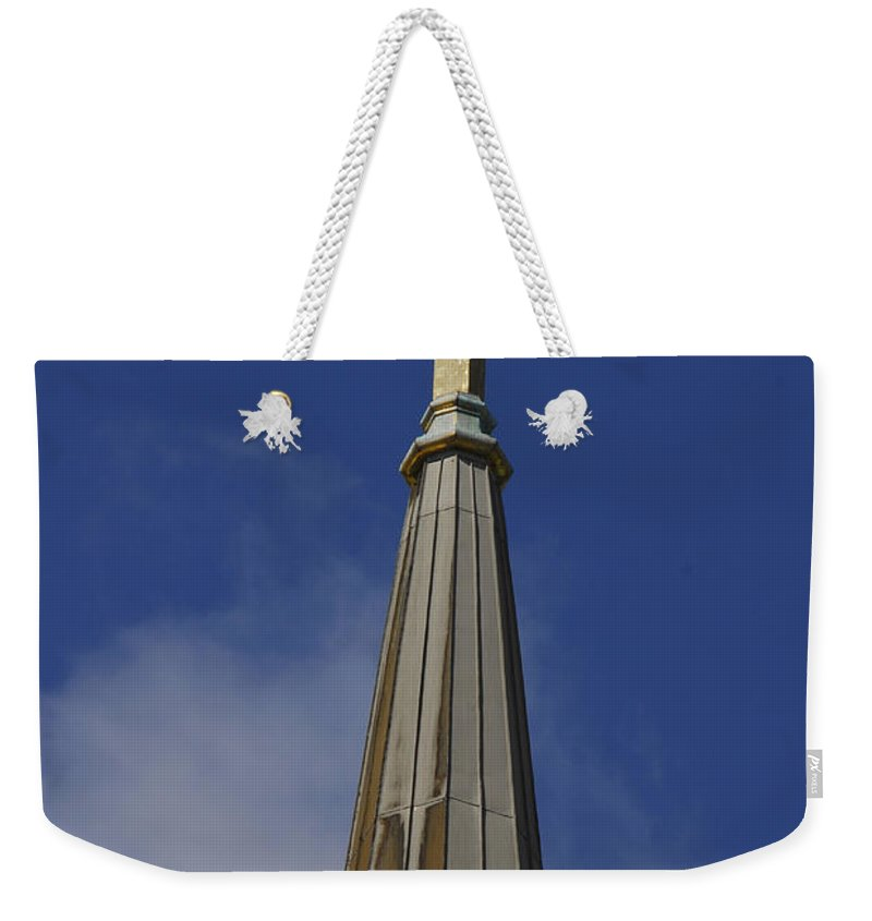 Cross Weekender Tote Bag featuring the photograph Good Friday by Cindy Manero