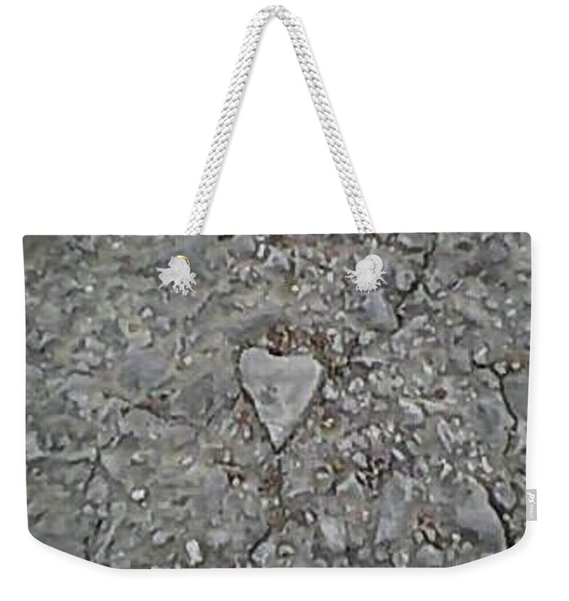 Heart Weekender Tote Bag featuring the photograph Good Morning Beautiful by Catherine Lott
