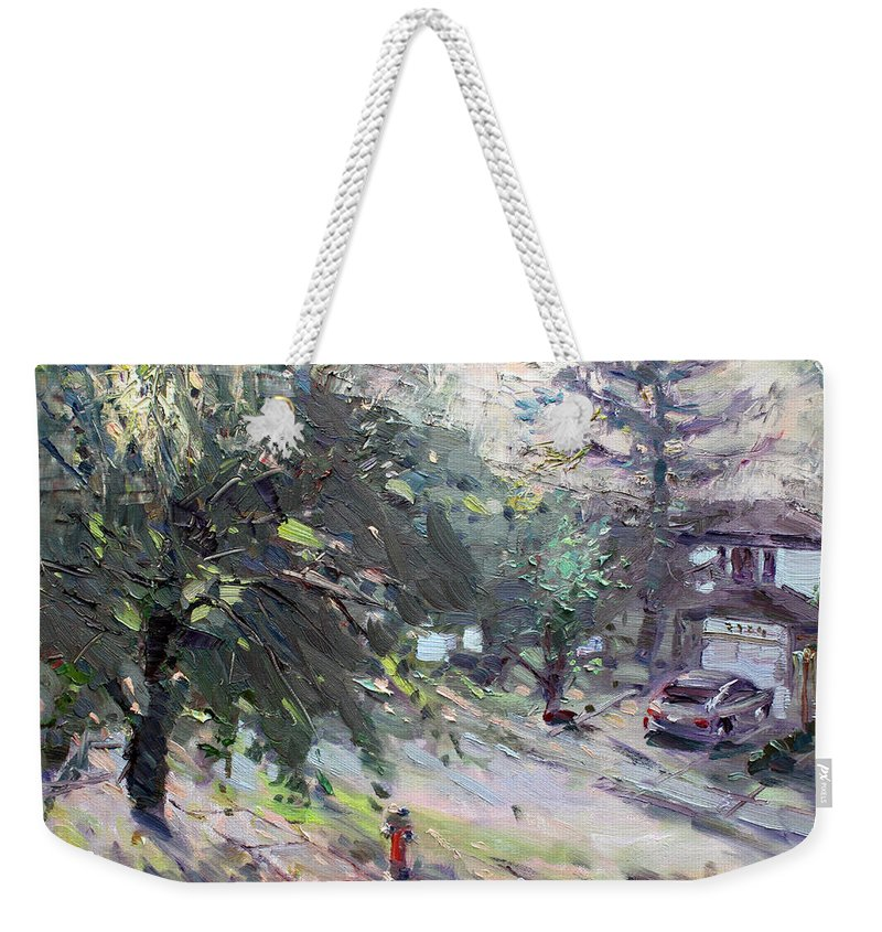 Neighborhood Weekender Tote Bags