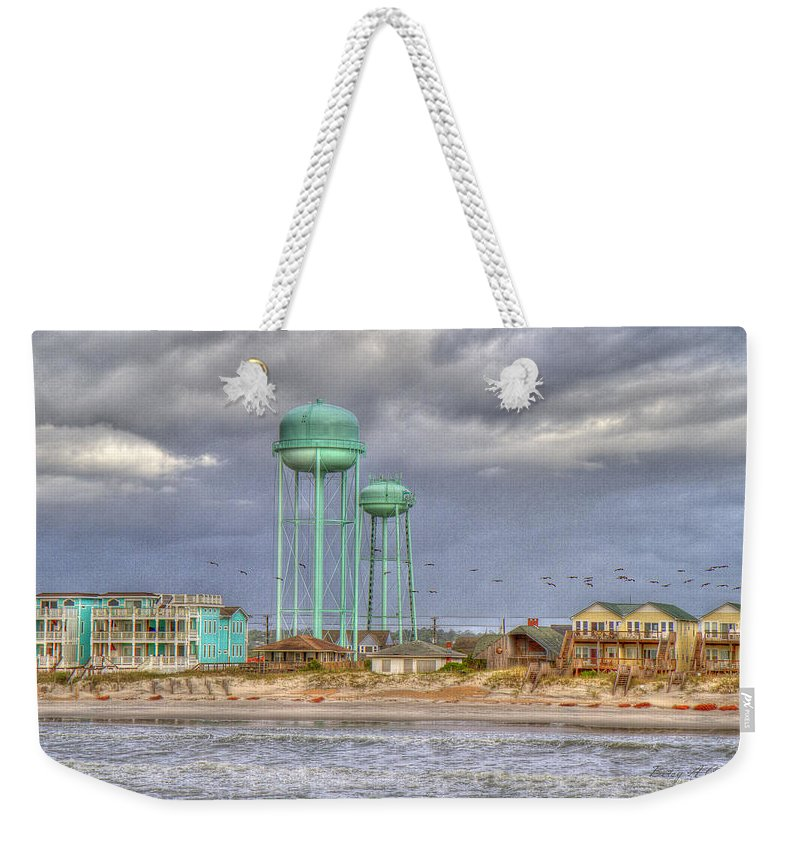 Topsail Weekender Tote Bag featuring the photograph Good Morning Topsail Island by Betsy Knapp