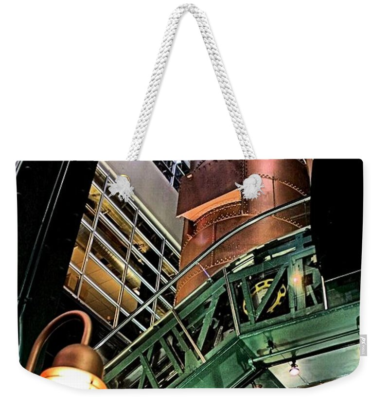 Color Weekender Tote Bag featuring the photograph Good Ol' Daze by Robert McCubbin