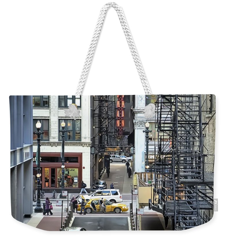 Crowd Digital Art Weekender Tote Bags