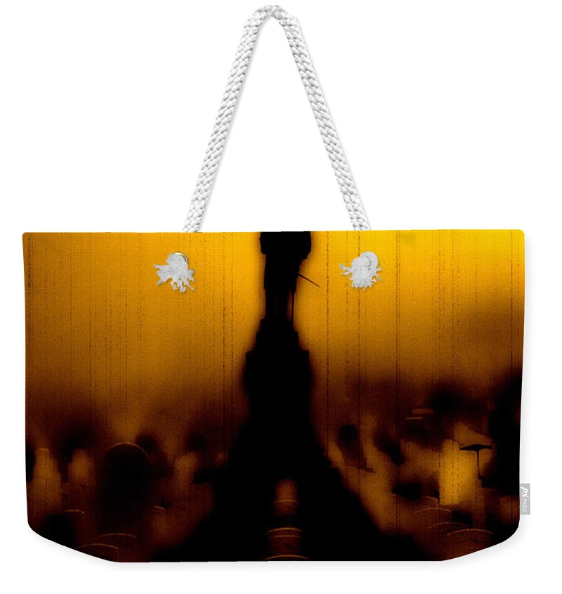 Heroes Weekender Tote Bag featuring the photograph Goodnight My Fallen Brothers by Digital Kulprits