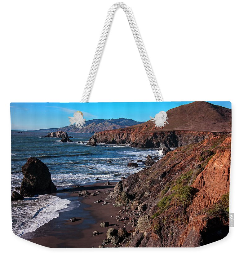 Gorgeous Weekender Tote Bag featuring the photograph Gorgeous Sonoma Coast by Garry Gay
