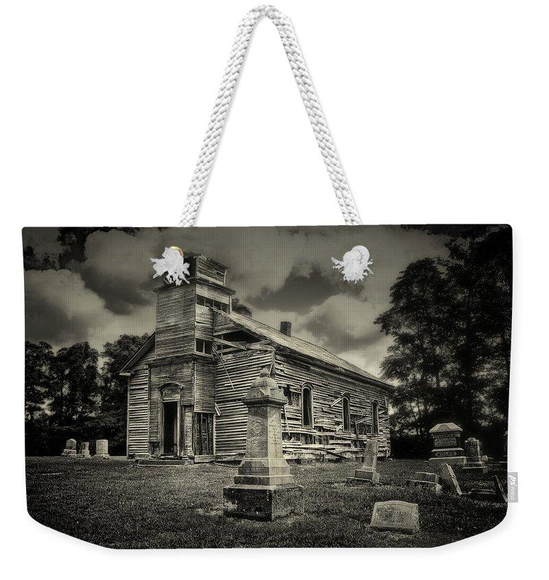 Cemetery Weekender Tote Bags