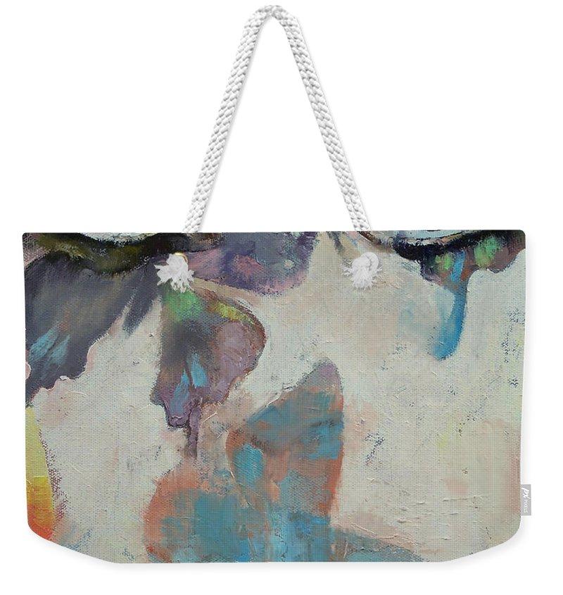 Portrait Paintings Weekender Tote Bags