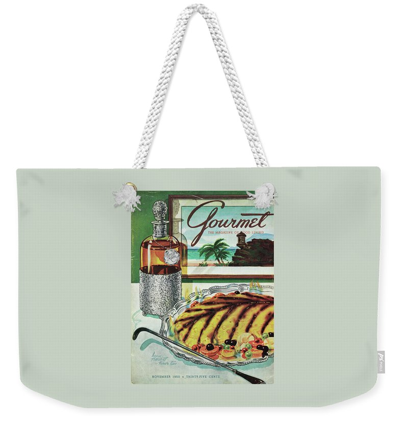 Gourmet Cover Of An Omelette Au Ruhm Weekender Tote Bag