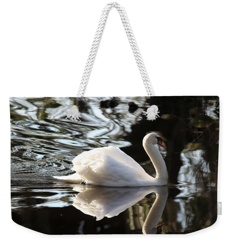Graceful Weekender Tote Bag featuring the photograph Graceful by Beth Vincent