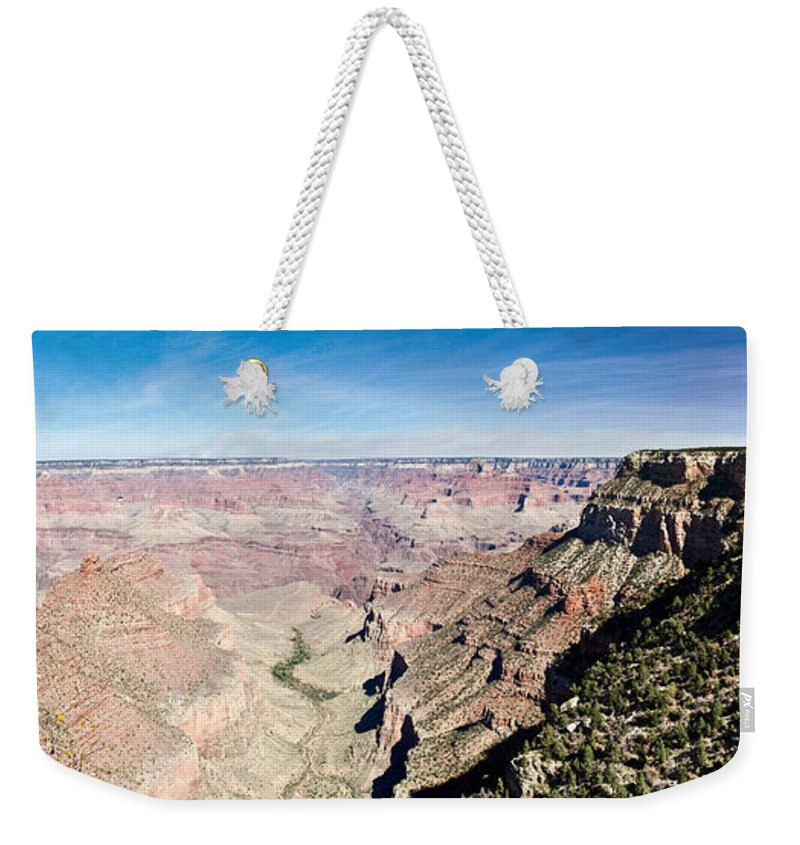 Grand Weekender Tote Bag featuring the photograph Grand Canyon 1 by Douglas Barnett