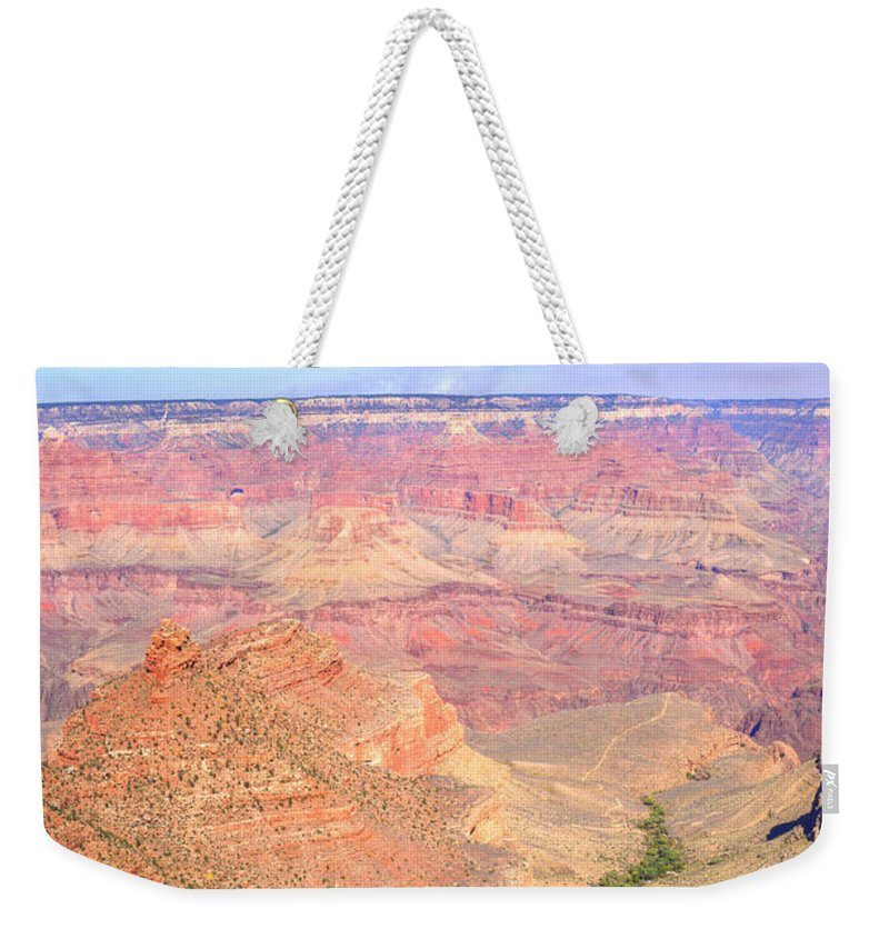 Grand Weekender Tote Bag featuring the photograph Grand Canyon 19 by Douglas Barnett