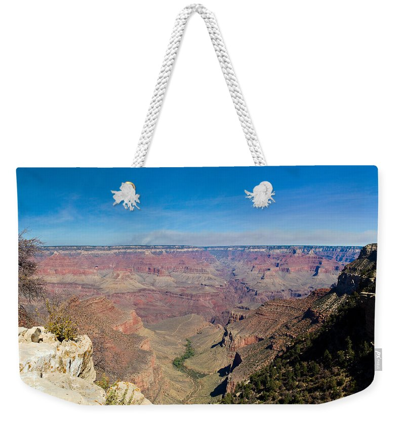 Grand Weekender Tote Bag featuring the photograph Grand Canyon 2 by Douglas Barnett