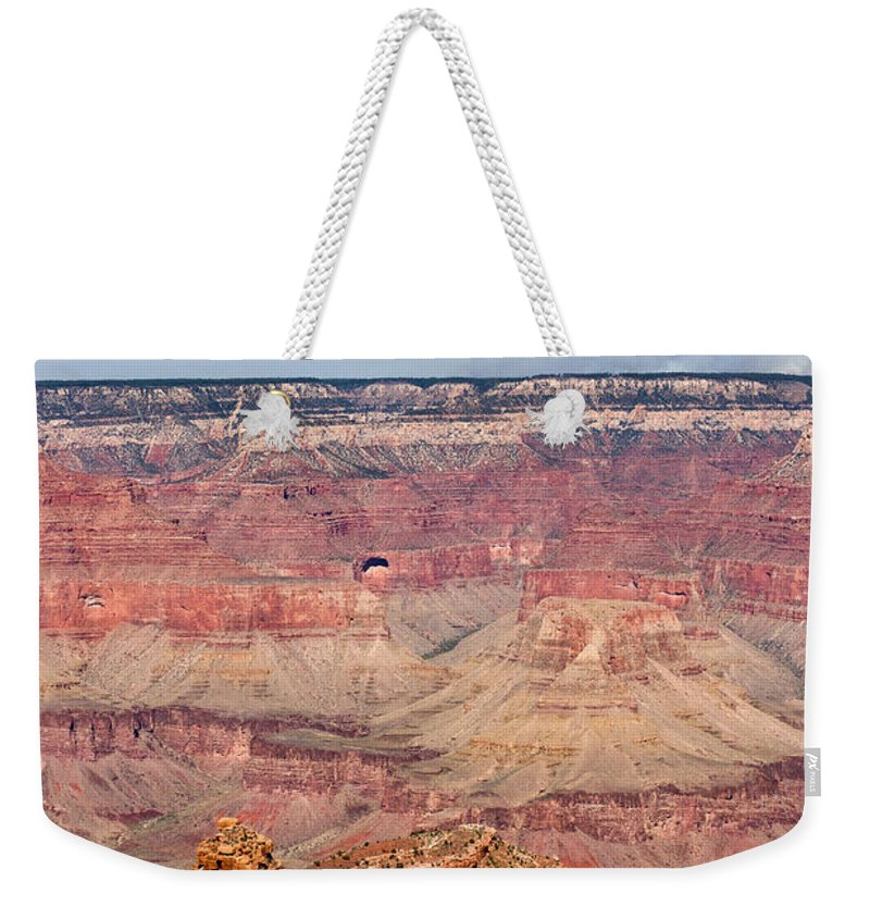 Grand Weekender Tote Bag featuring the photograph Grand Canyon 23 by Douglas Barnett