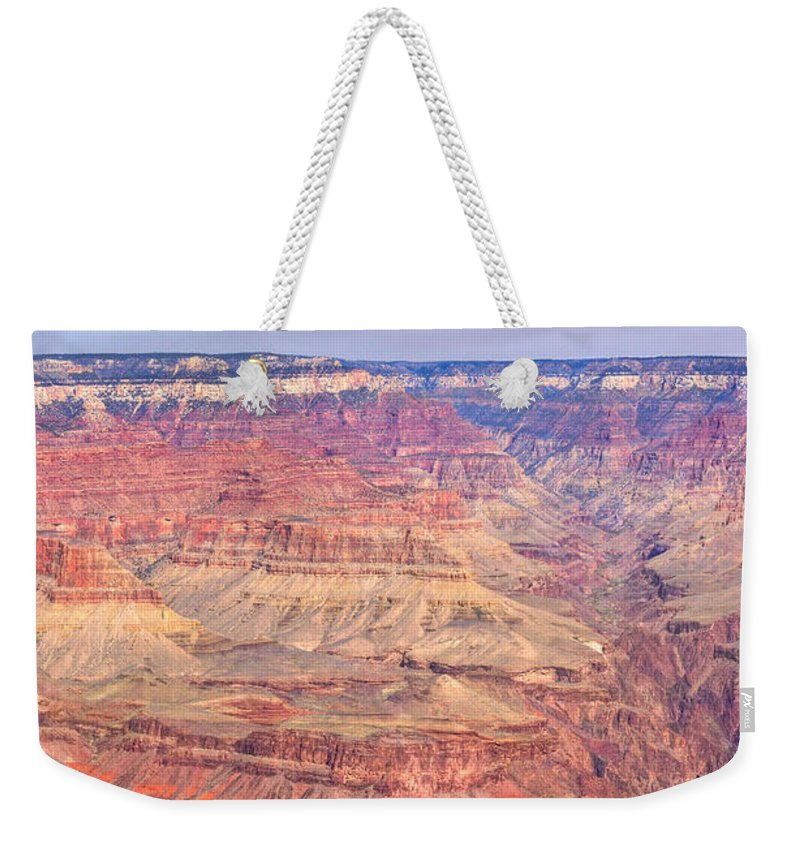 Grand Weekender Tote Bag featuring the photograph Grand Canyon 24 by Douglas Barnett