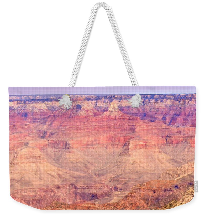 Grand Weekender Tote Bag featuring the photograph Grand Canyon 27 by Douglas Barnett