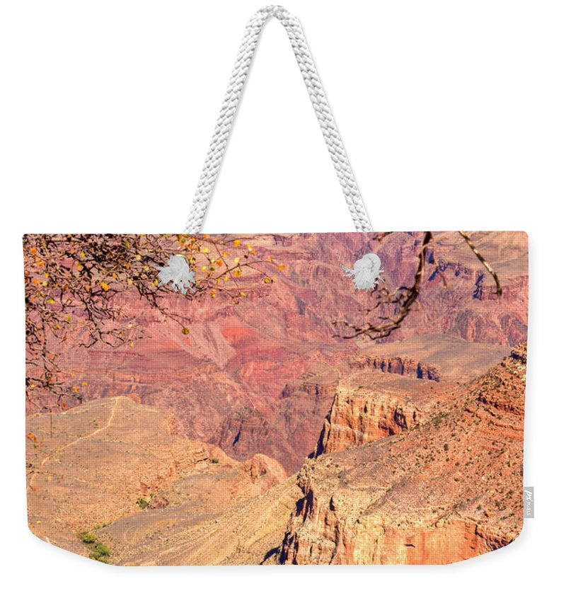 Grand Weekender Tote Bag featuring the photograph Grand Canyon 28 by Douglas Barnett