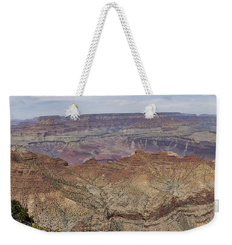 Grand Canyon Weekender Tote Bag featuring the photograph Grand Canyon 1 by Daniel Troy