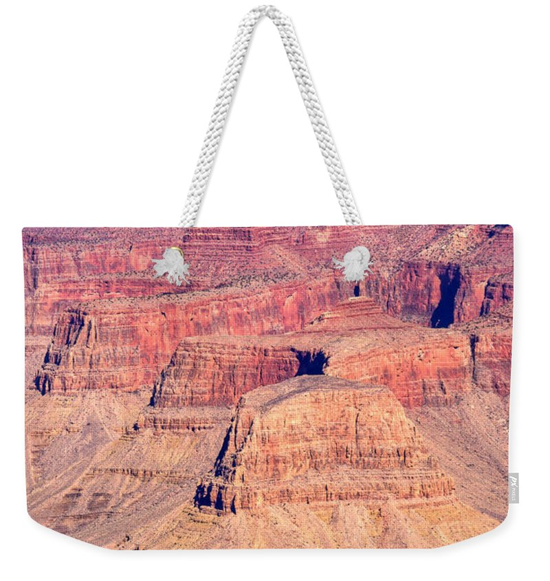 Grand Weekender Tote Bag featuring the photograph Grand Canyon 33 by Douglas Barnett