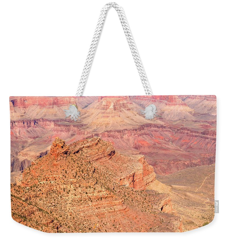 Grand Weekender Tote Bag featuring the photograph Grand Canyon 34 by Douglas Barnett