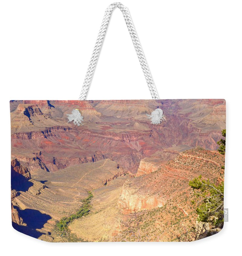 Grand Weekender Tote Bag featuring the photograph Grand Canyon 38 by Douglas Barnett