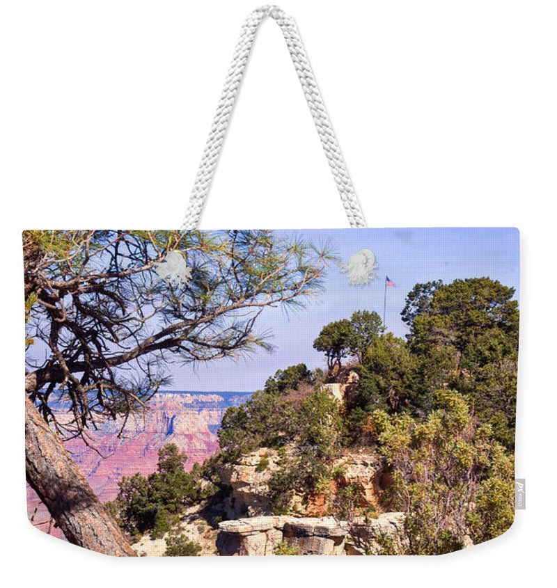 Grand Weekender Tote Bag featuring the photograph Grand Canyon 40 by Douglas Barnett