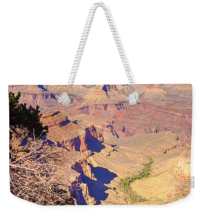 Weekender Tote Bag featuring the photograph Grand Canyon 41 by Douglas Barnett