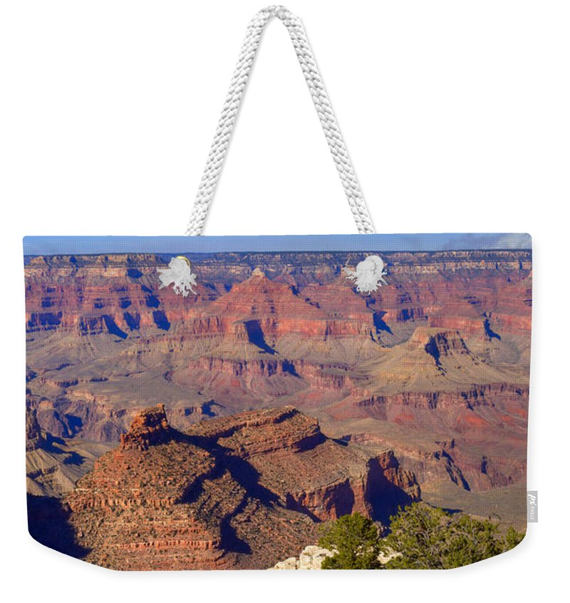 Grand Weekender Tote Bag featuring the photograph Grand Canyon 43 by Douglas Barnett