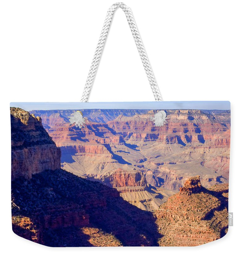 Grand Weekender Tote Bag featuring the photograph Grand Canyon 44 by Douglas Barnett