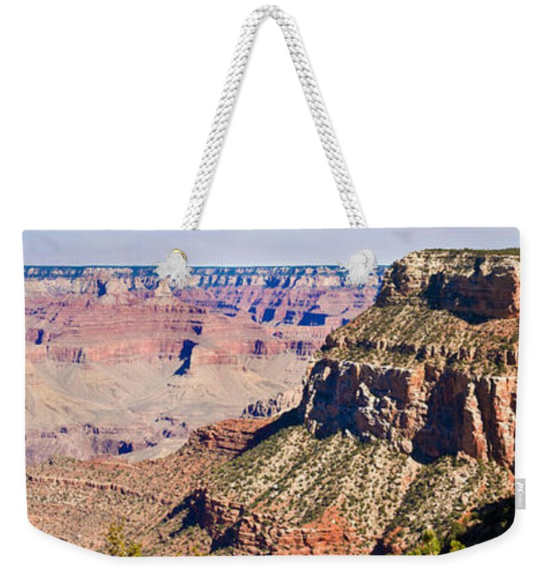Grand Weekender Tote Bag featuring the photograph Grand Canyon 50 by Douglas Barnett