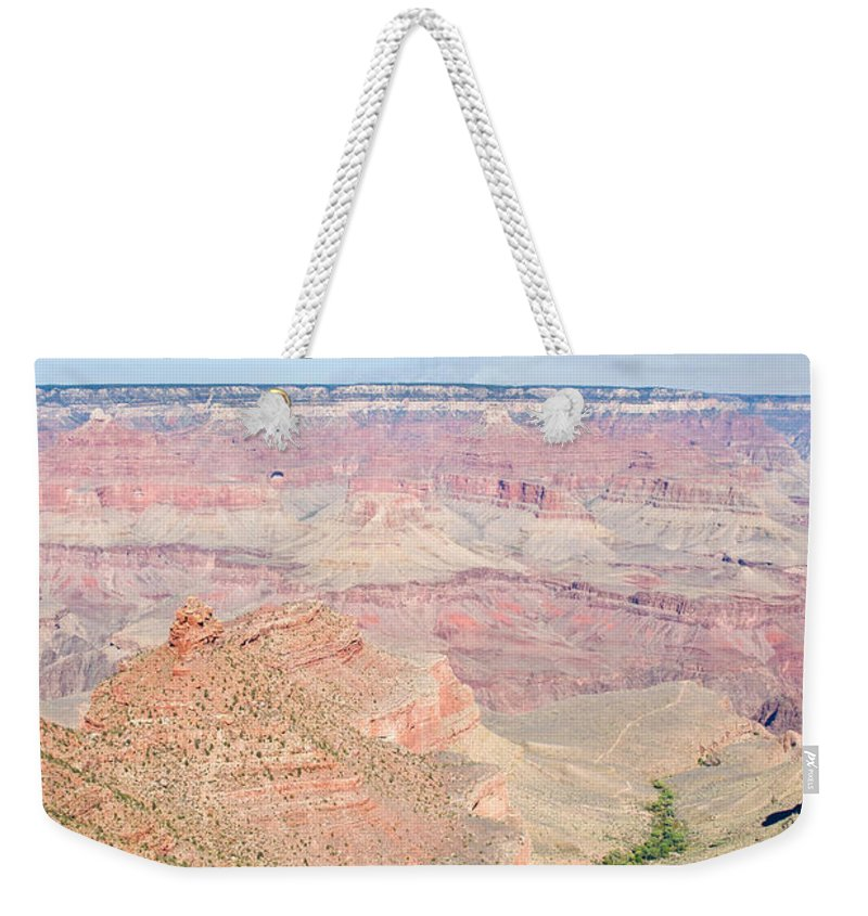 Grand Weekender Tote Bag featuring the photograph Grand Canyon 51 by Douglas Barnett