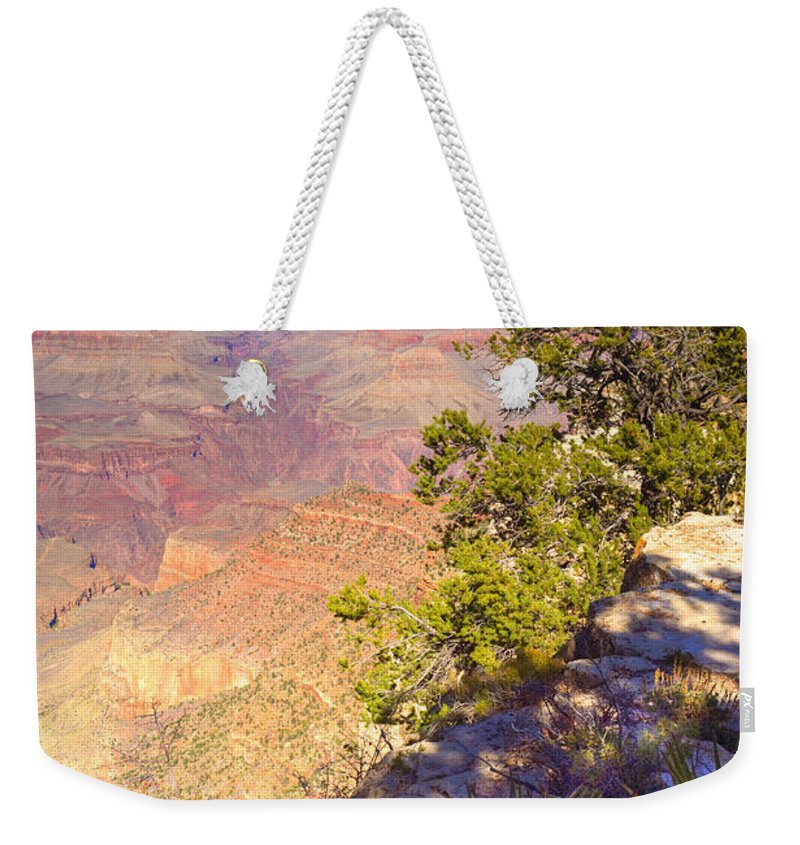 Grand Weekender Tote Bag featuring the photograph Grand Canyon 55 by Douglas Barnett
