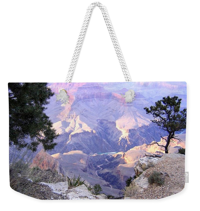 Grand Canyon 75 Weekender Tote Bag featuring the photograph Grand Canyon 75 by Will Borden