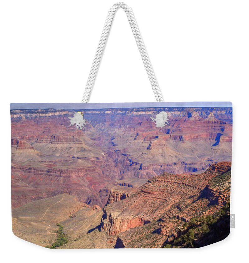 Grand Weekender Tote Bag featuring the photograph Grand Canyon 8 by Douglas Barnett