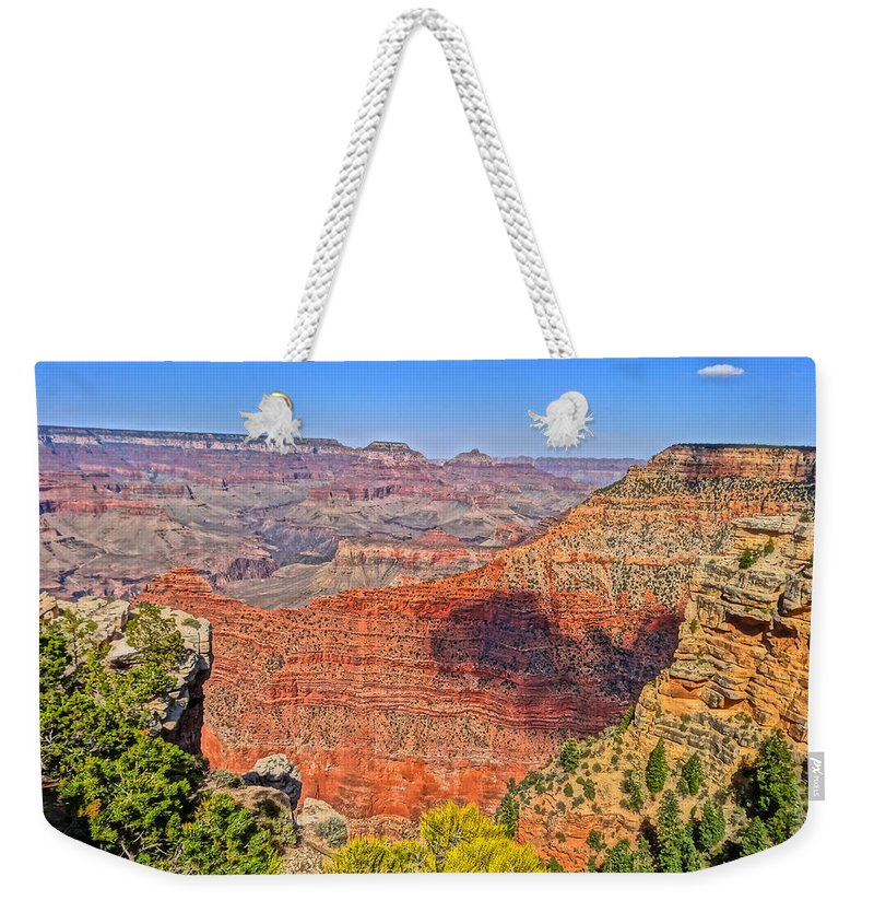 Grand Canyon Photographs Weekender Tote Bag featuring the photograph Grand Canyon by Dan Sproul