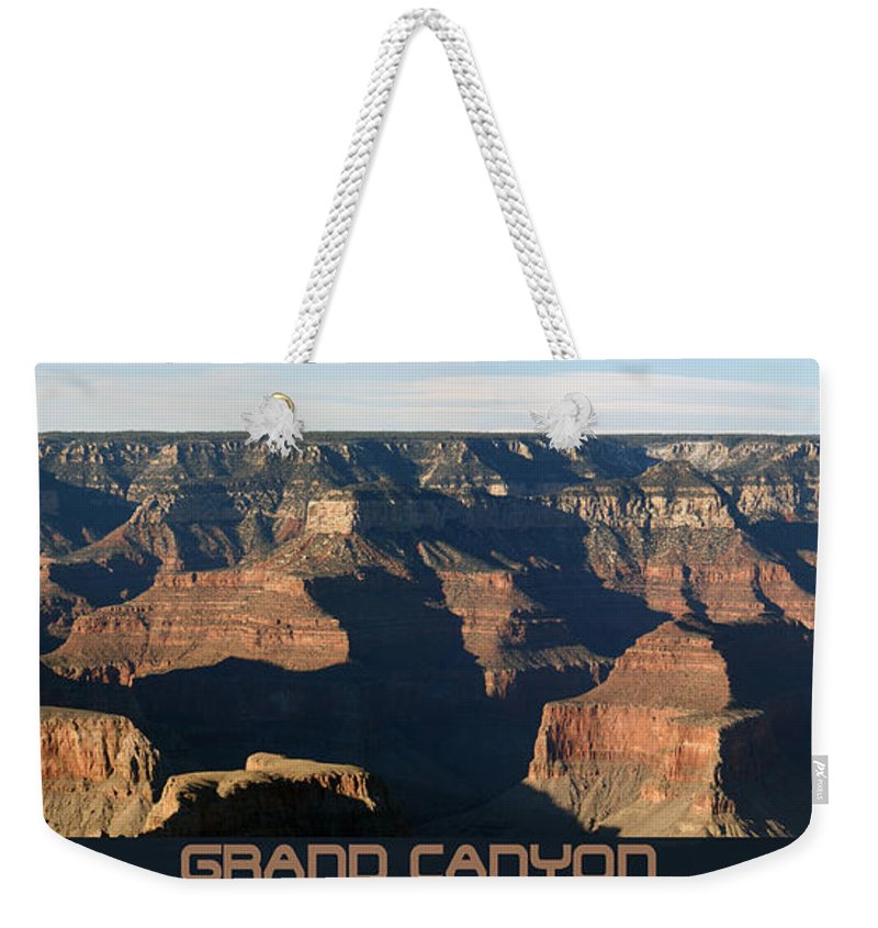Canyons Weekender Tote Bag featuring the photograph Grand Canyon by Ernie Echols
