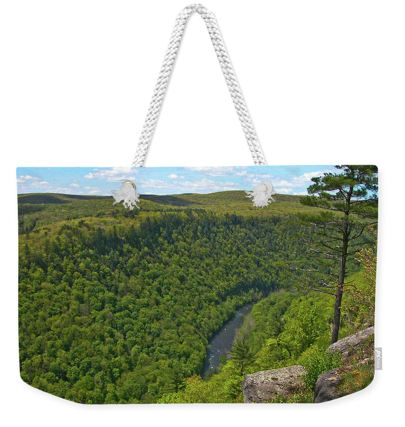 Landscape Weekender Tote Bag featuring the photograph Grand Canyon Pa 2770 by Guy Whiteley