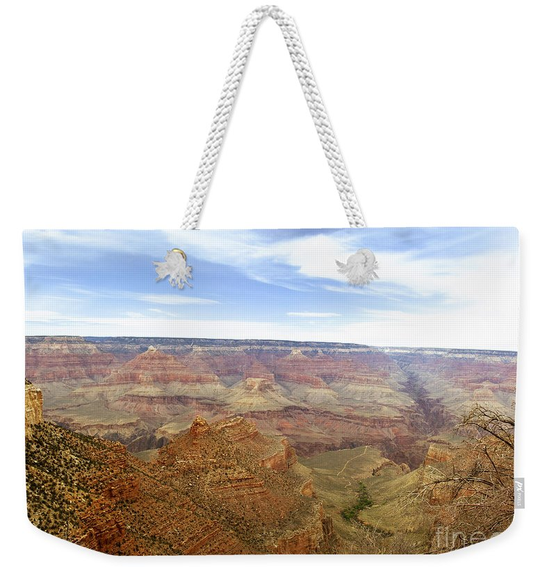 Matherspoint Weekender Tote Bag featuring the photograph Grand Canyon by Scott Pellegrin