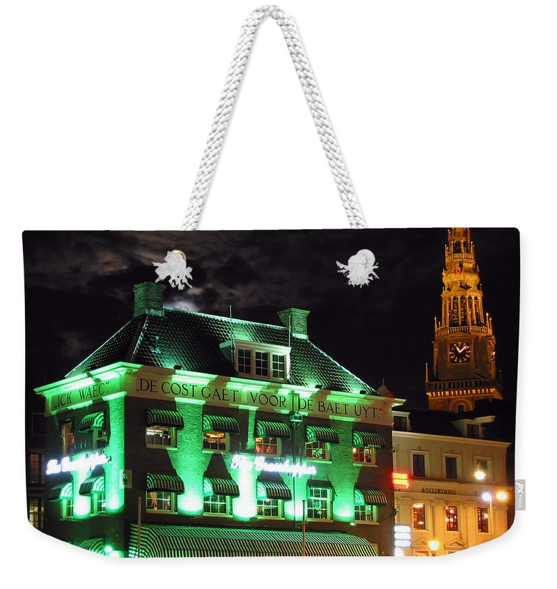 3scape Weekender Tote Bag featuring the photograph Grasshopper Bar by Adam Romanowicz