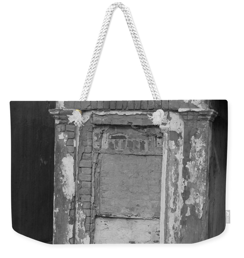 Cemetery Weekender Tote Bag featuring the photograph Grave I by Beth Vincent
