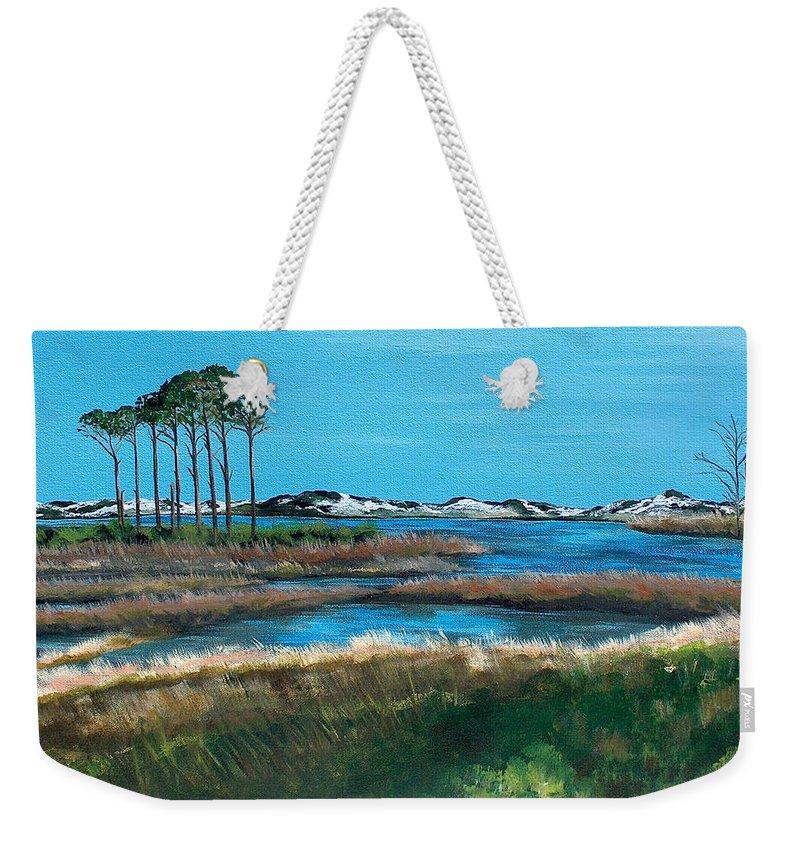 Gulf State Park Weekender Tote Bags