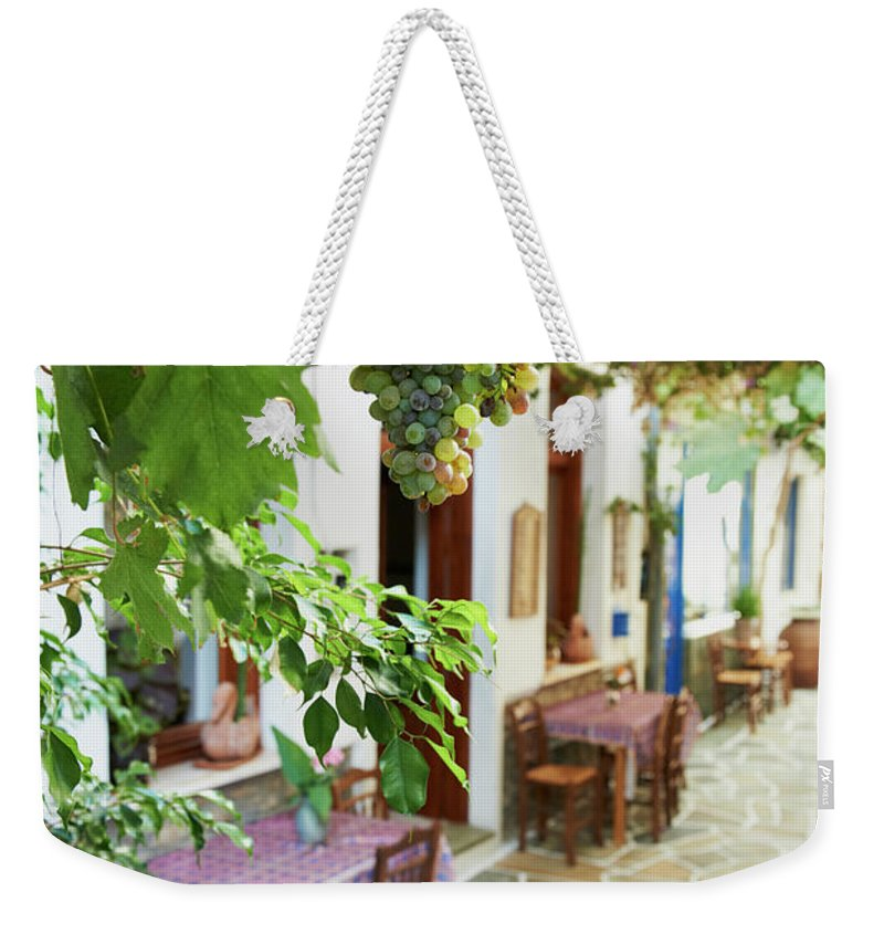 Tranquility Weekender Tote Bag featuring the photograph Greece, Cyclades Islands, Kythnos by Tuul & Bruno Morandi