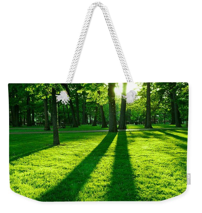 Sun Set Photographs Weekender Tote Bags