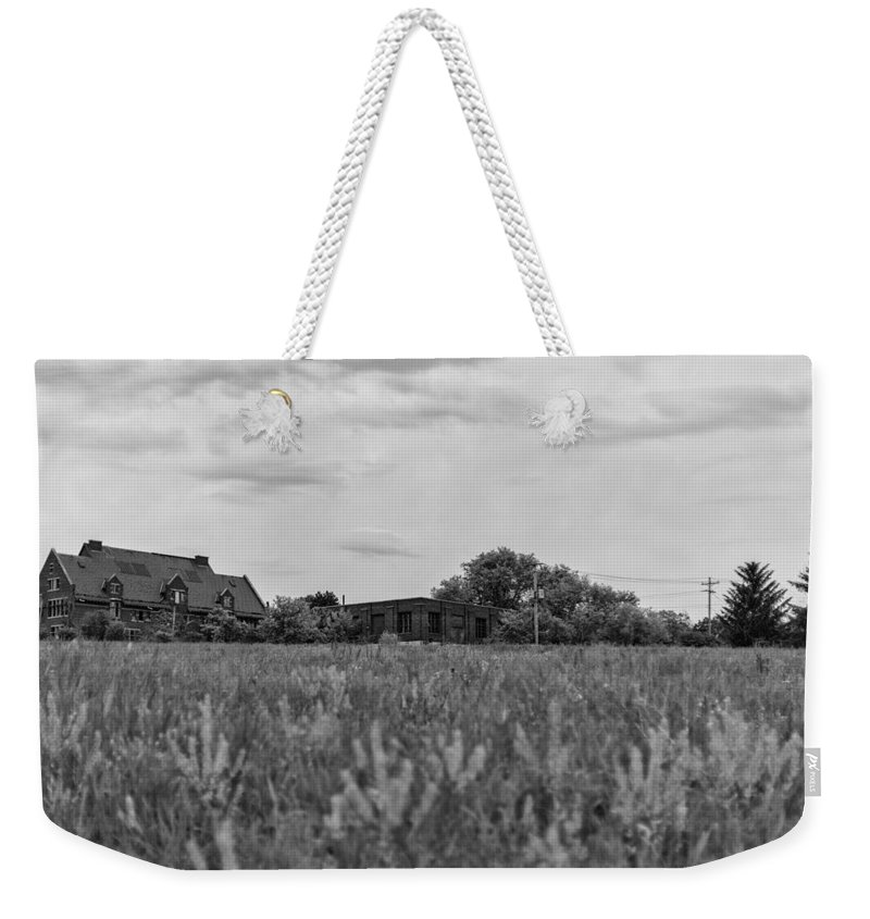 Www.cjschmit.com Weekender Tote Bag featuring the photograph Grey Within The Greys by CJ Schmit