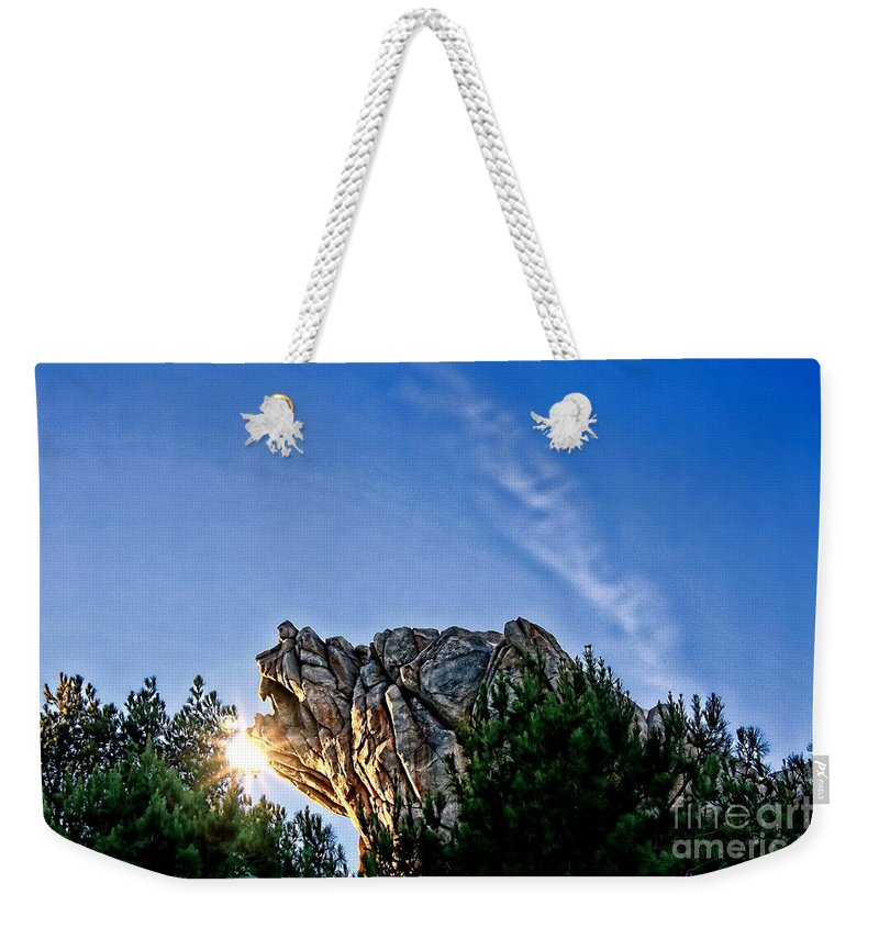 Grizzly Peak Weekender Tote Bag featuring the photograph Grizzly Peak by Tommy Anderson