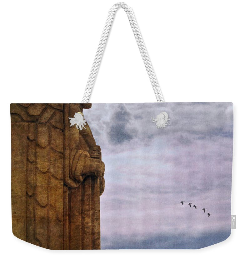 Guardian Of Hope Weekender Tote Bag featuring the photograph Guardian Of Hope by Dale Kincaid