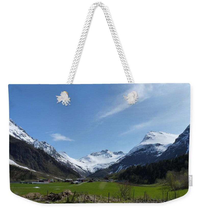 Weekender Tote Bag featuring the photograph Guards Of Peace by Katerina Naumenko