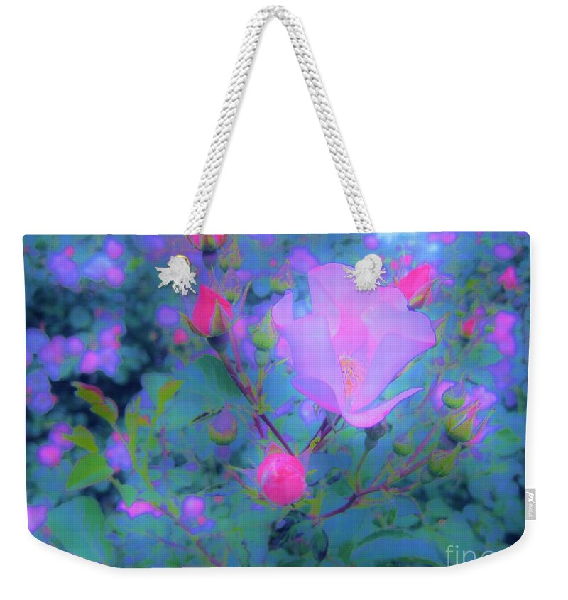 Rose Weekender Tote Bag featuring the photograph Gypsy Rose - Flora - Garden by Susan Carella