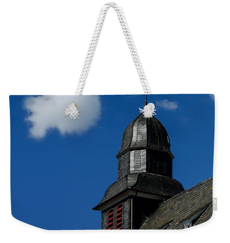 Vane Weekender Tote Bag featuring the photograph Habemus Papam by TouTouke A Y